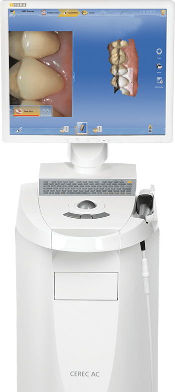 CEREC same day dental restoration machine